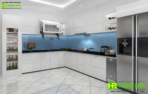 Tủ bếp Acrylic BAE11-01