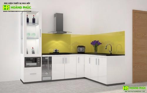 Tủ bếp Acrylic BAE11-02
