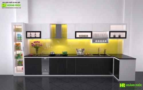 Tủ bếp Acrylic BAP26E11-03