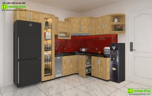 Tủ bếp pơ mu BGPM-01