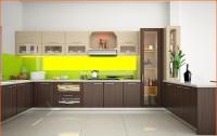 Tủ bếp Acrylic MEU406