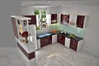 Tủ bếp AcrylicARLQ 013