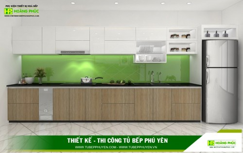 Tủ bếp đẹp Phú Yên