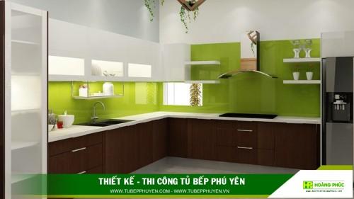 Tủ bếp đẹp Sơn Hòa