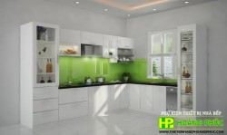Tủ bếp Acrylic HP-03